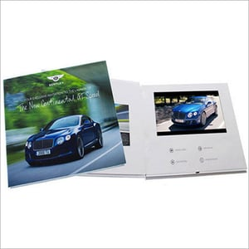 Video Printed Brochure