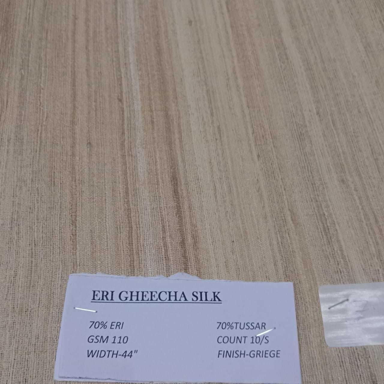 Eri Gheecha Silk Fabric
