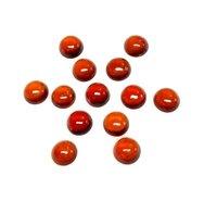 3mm Hessonite Garnet Round Cabochon Loose Gemstones