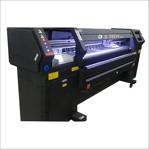 Flex printing machine.