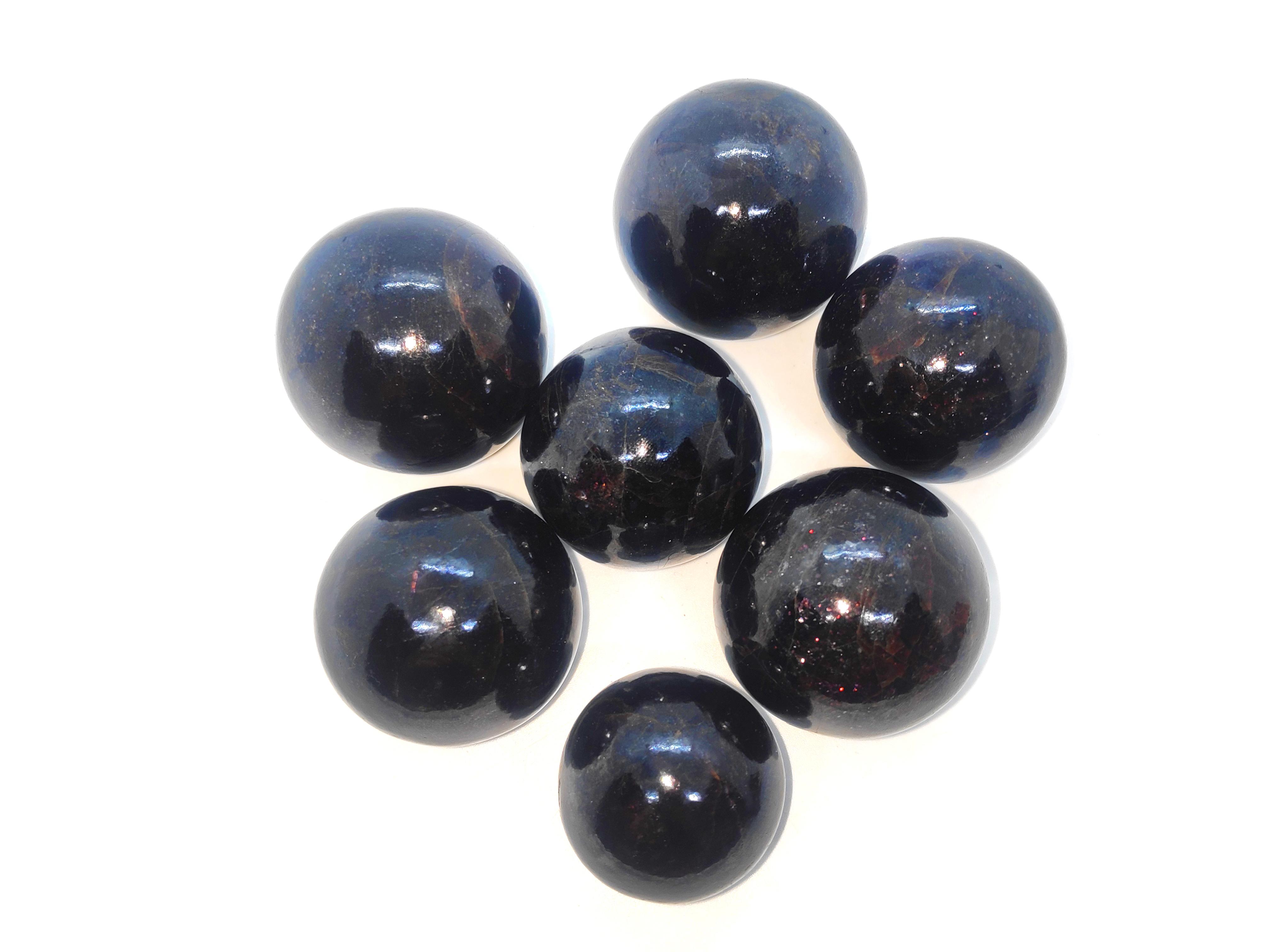 Garnet Spheres