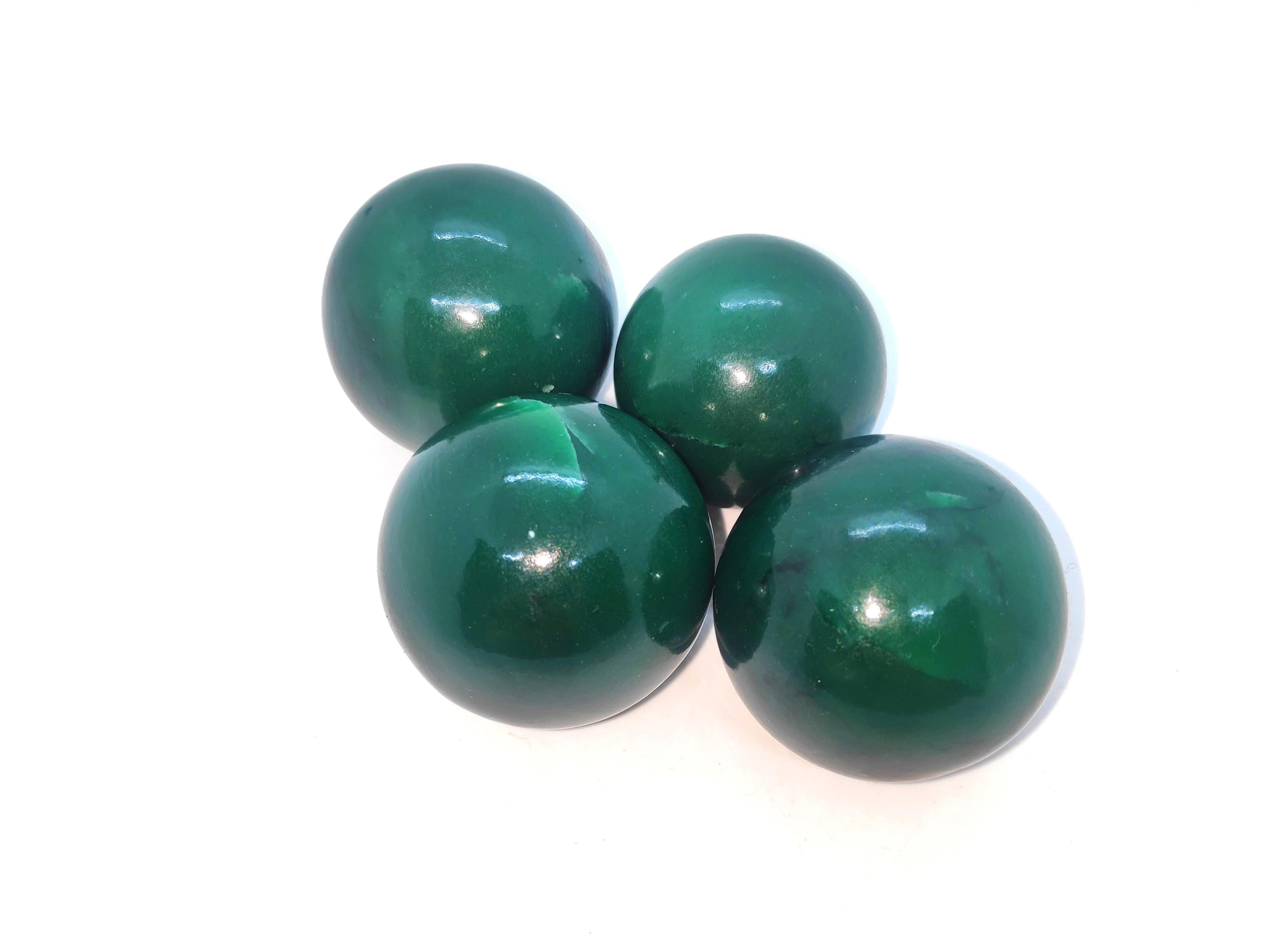 Green Avaenturine Spheres