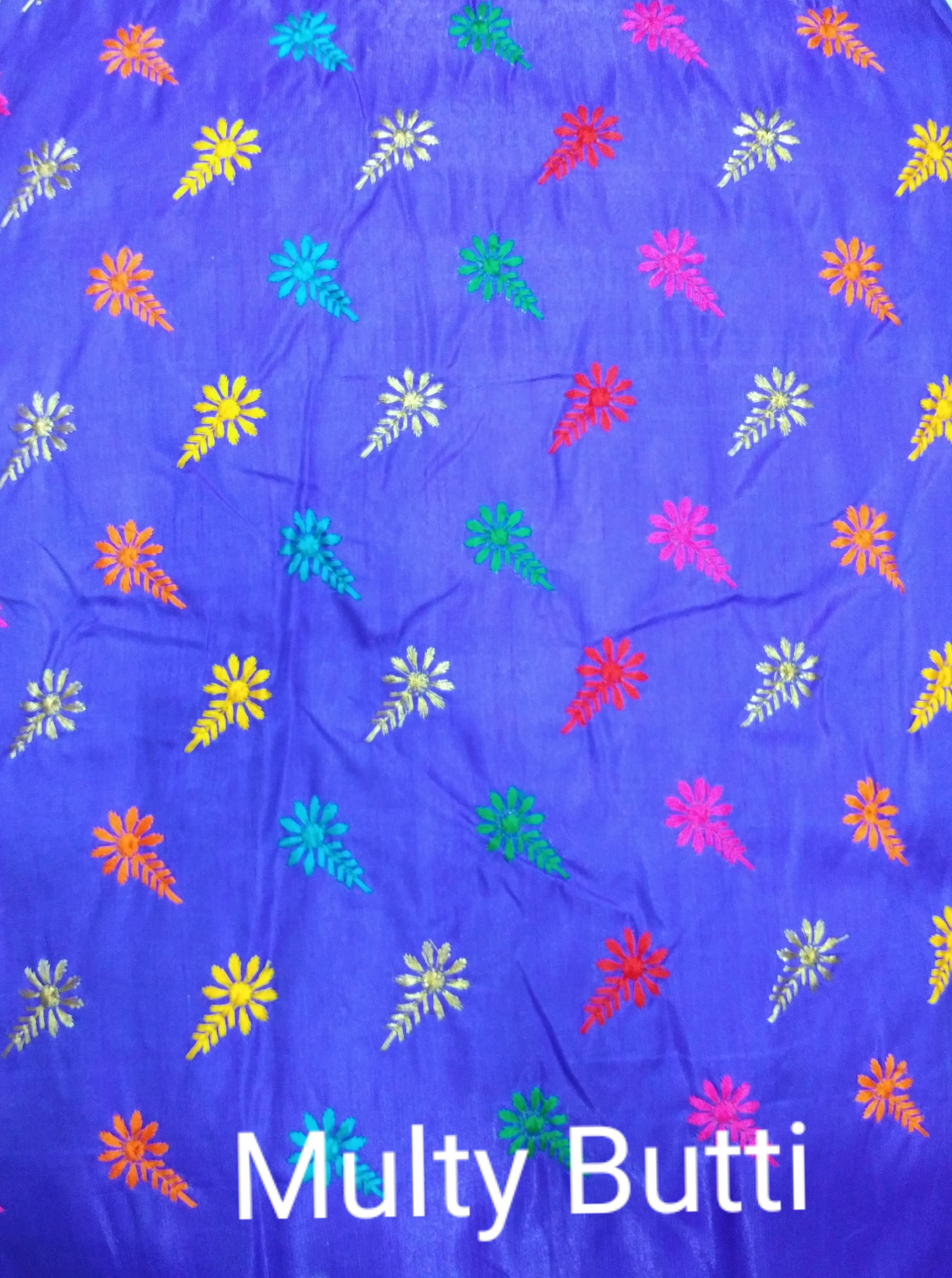 Multi Meena Jari Embroidery