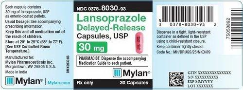 Lansoprazole Delayed Release Capsules