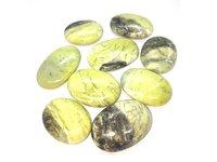 Green Serpentine Palmstone Gemstones