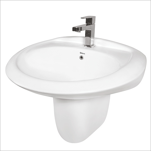 Half Pedestal Wash Basin