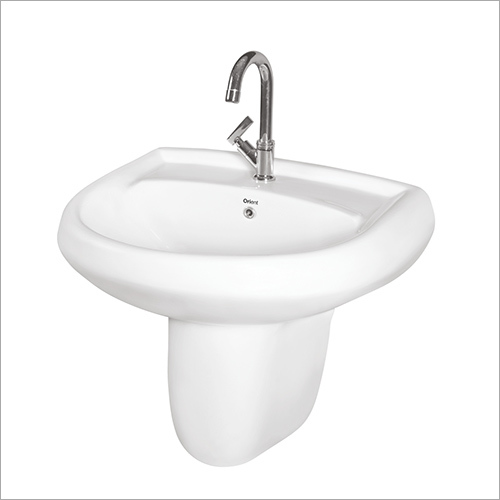 Wash Basin Half Pedestal