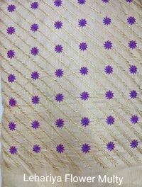 Lehariya Flower Multi Embroidey