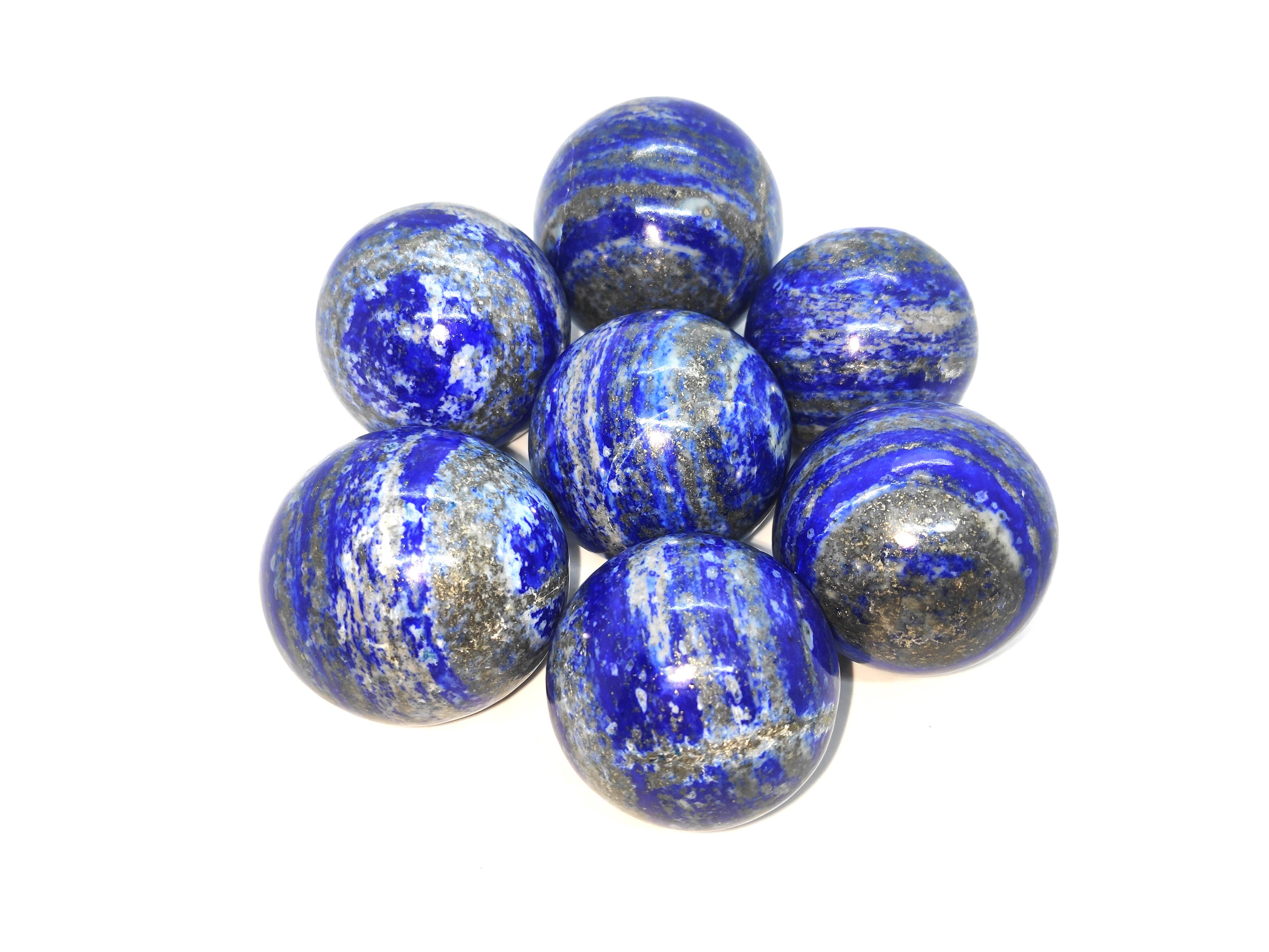 lapis lazuali spheres Gemstones