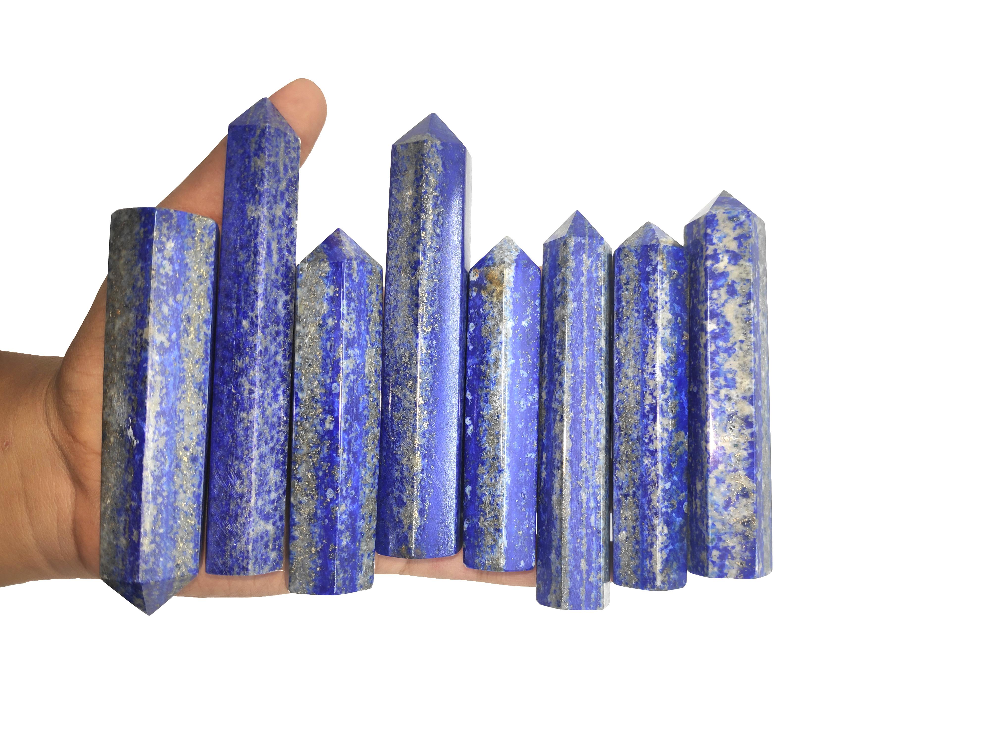 Lapis lazuali towers
