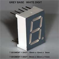 7 SEG 1 DIGIT Segment Display
