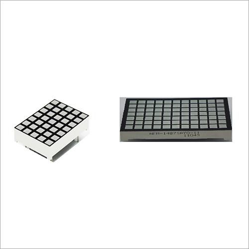 Square Matrix Segment Display