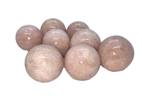 morgonite spheres Gemstones