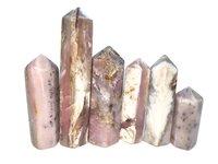 pink opal towers Gemstones