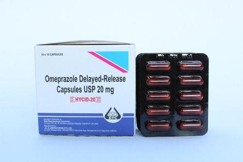 Omeprazole Delayed Release Capsule