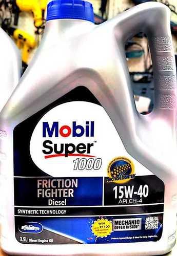 Mobil Super 1000 Diesel 15w-40 Api Ch-4 Multigrade Engine Oil (3.5l)