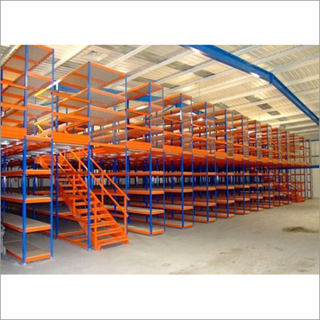 Industrial Two Tier Racking System