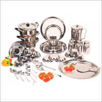 125 Pieces SS Kitchen Dinner Set