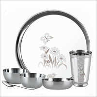 6 Pieces Stainless Steel Dinner Set
