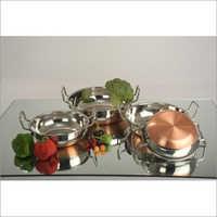 Copper Bottam Handi Set