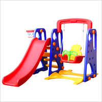 Multi Colour Slide With Plastic Swing
