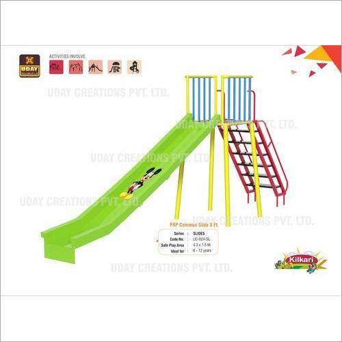 8 Ft FRP Playground School Slide