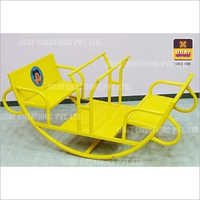 Boat Shape Four Seater See Saw