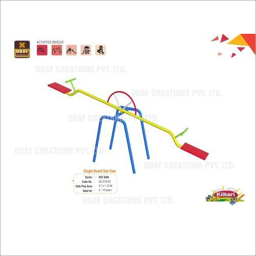 Multi Seater Playground Seesaw
