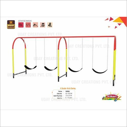 Playground Swing Arch Four Seater