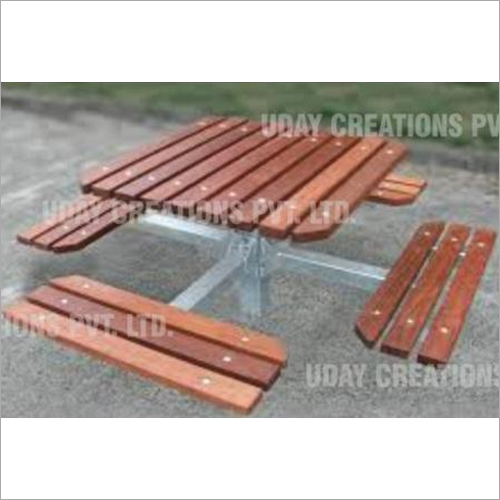 Four Side Picnic Table