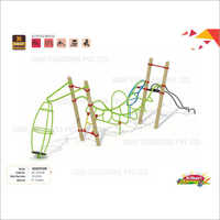 Playground Adventure Bridge Climber