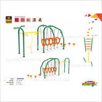 Playground Climber Adventure Tunnel Swing