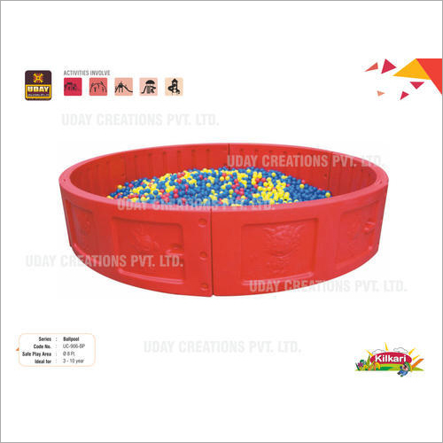 FRP and Rubber Spoungy Ball Pool