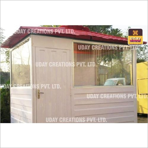 8 x 6 Ft FRP Portable Security Cabin.