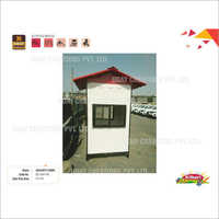 4 x 4 Ft FRP Security Cabin