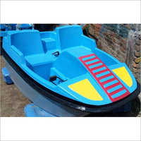 FRP Two Seater Paddle Boat