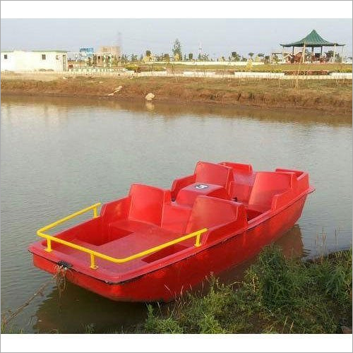 FRP Four Seater Paddle Boat