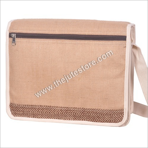 Jute Messenger Side Bag