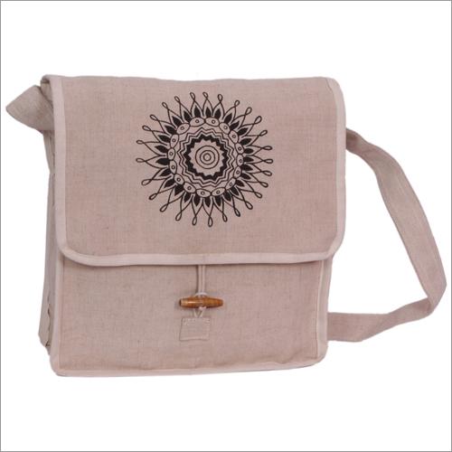 Canvas Messenger Side Bag