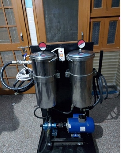 Double hydraulic Oil Filtration System