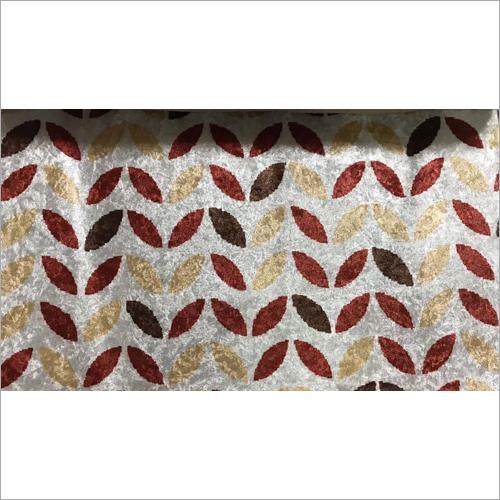 Digital Leaf Printed Sofa Fabric