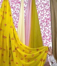 Embroidered Georgette Fabrics