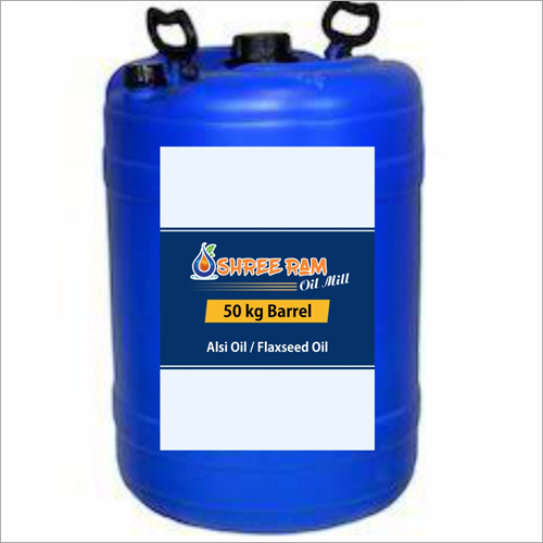 50 Kg Barrel Alsi Oil