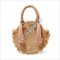 Designer Jute Straw Bag