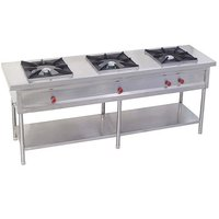 Labcare Export Three Burner Cooking Range