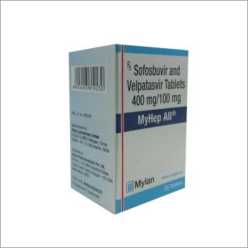 MYHEP ALL (Sofosbuvir And Velpatasvir) Tablets