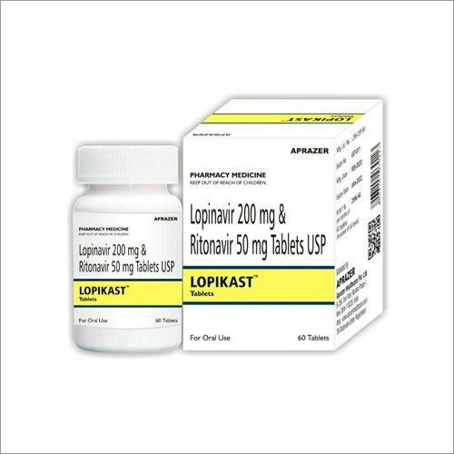 LOPIKAST (Lopinavir 200 MG And Ritonavir 50 MG )Tablets USP