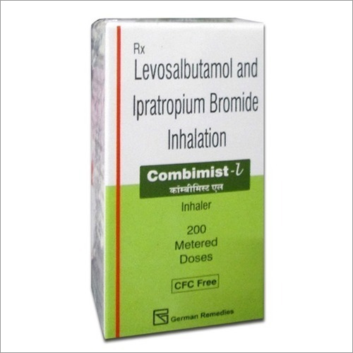 Levosalbutamol And Ipratropium Bromide Inhalation