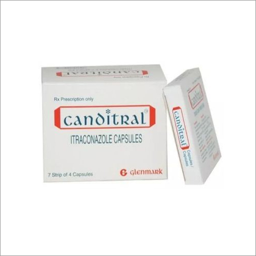 CANDITRAL CAP (Itraconazole Capsules)