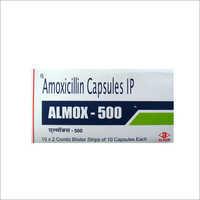 ALMOX 500 CAPSULE (Amoxicillin Capsule IP)